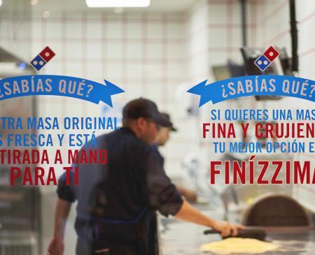 Domino's Pizza abre en Almendralejo y dona toda la recaudación del primer día a la asociación Includes Almendralejo
