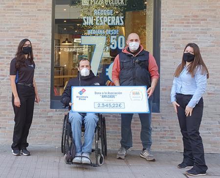 Domino's Pizza inaugura nueva tienda en Pontevedra