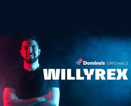 La tercera entrega de Domino's Originals, protagonizado por Willyrex, supera los 2 millones y medio de visualizaciones en las primeras 48 horas
