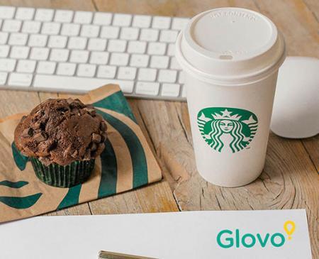 Starbucks® llega a Glovo