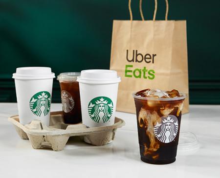 Starbucks® y Uber Eats se unen para llevarte a casa tu bebida favorita