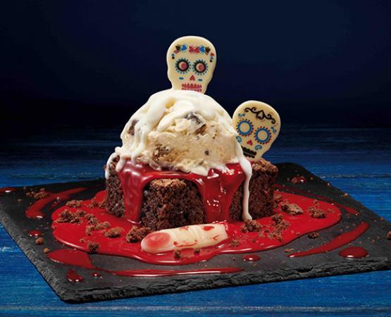 Este Halloween llega Catrina's Ben & Jerry´s Brownie, el postre más terrorífico de Foster´s Hollywood