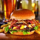 Fridays Signature Stacked Burger